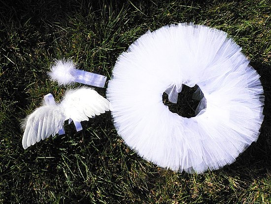 Tutu, Wings, and Headband Set ($45)