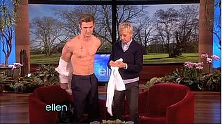 Video of Shirtless Alex Pettyfer on Ellen Degeneres