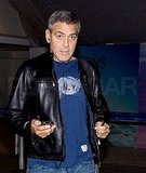 George Clooney Makes a Casual Landing Back in LA