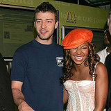 "McDonald's ambassadors Justin Timberlake and Ashanti paired up to announce the ""I'm Loving It"" campaign in June 2004."