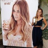 Lauren Conrad tweeted the debut of her Got Milk? ad.  Source: Twitter user laurenconrad