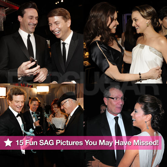 15 Fun SAG Pictures You May Have Missed!
