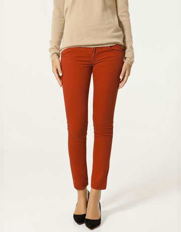Zara Red Skinny Jeans ($16, originally $60)
