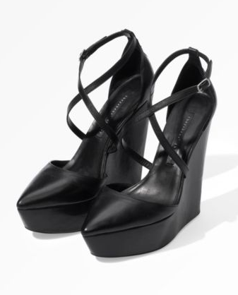 Theyskens' Theory Ankle Strap Platforms ($465)