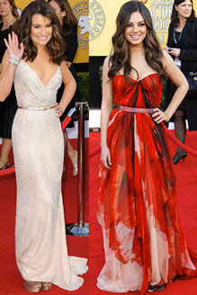 2011 Screen Actors Guild Awards Best Dressed 2011-01-30 20:30:43