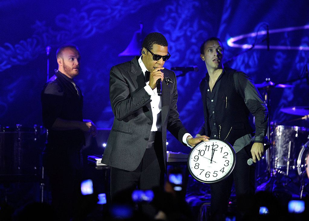 Jay-Z Rings In 2011 With Chris Martin, Kanye West, John Mayer, and a Long List of Celebrity Fans