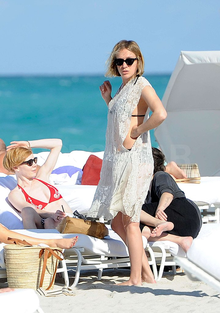 Big Love's Chloë Sevigny Breaks Out Her Teeny Black Bikini in South Beach!
