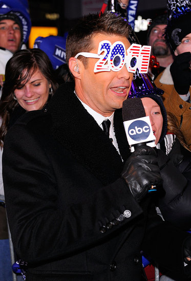 Pictures of Ryan Seacrest, Fergie, Jennifer Hudson, Jenny McCarthy, Avril Lavigne, Willow Smith, NKOTB on NYE 2011 2011-01-03 01:55:00