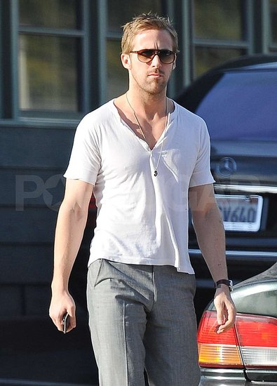 Pictures of Ryan Gosling in LA