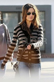 Pictures of Mila Kunis Having Lunch in LA