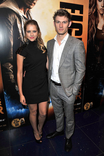 Pictures of Alex Pettyfer and Teresa Palmer at I Am Number Four Junket in London
