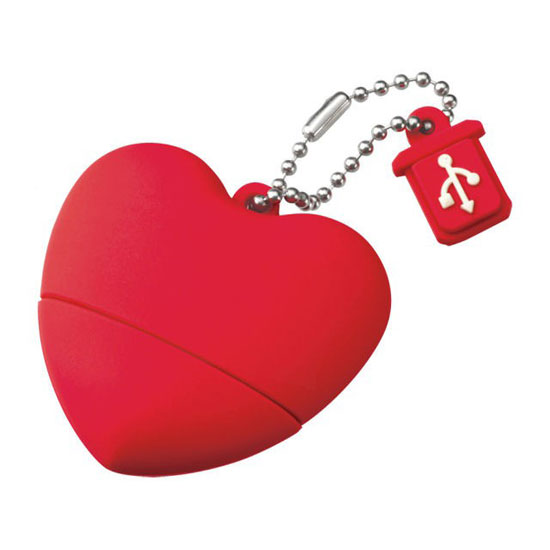 2GB Heart Shaped Memory ($54)