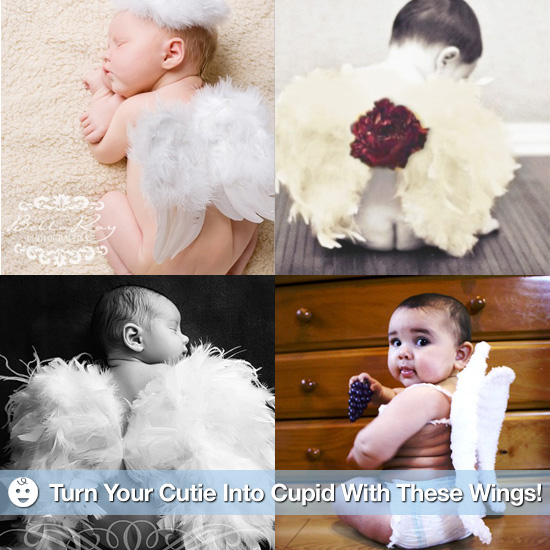 Turn Your Cutie Into Cupid With These Angel Wings