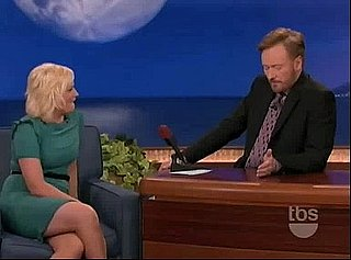 Amy Poehler Does Drama on Conan