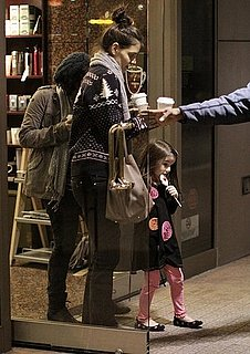 Pictures of Katie Holmes, Suri Cruise, and Isabella Cruise Getting Ice Cream in Vancouver