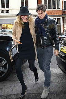 Pictures of Kate Moss and Jamie Hince Shopping For Jewelry in London