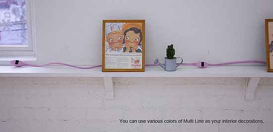 Genius! Multi Lines Extension Cords Are Functional and Fab