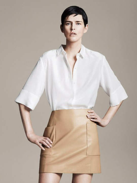 Stella Tennant Stars in Zara's Spring 2011 Lookbook