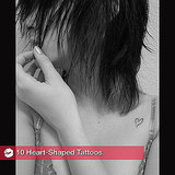 Heart-Shaped Tattoos For Valentine's Day