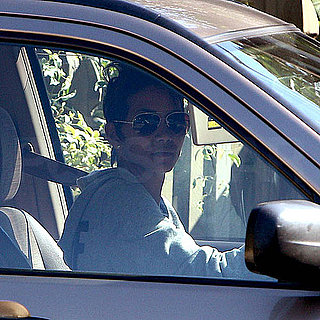 Pictures of Halle Berry Driving During Custody Drama