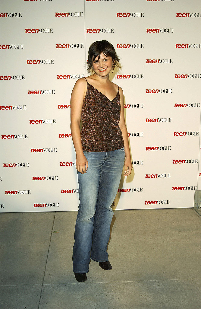 Did you ever think Ginnifer was a jeans girl?  Going way casual in 2003.