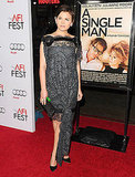Ginnifer makes an eclectic, fashion-forward choice, adding color in a subtle way, by the end of 2009.