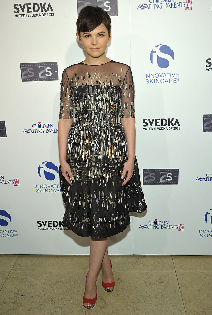 Ladylike and really cool: everything about Ginnifer's present-day look is fabulous.