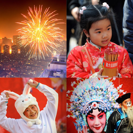 Pictures From Lunar New Year of the Rabbit
