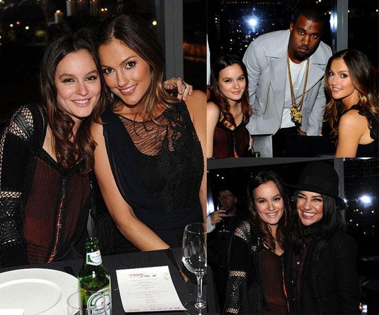 Blair Scott Leighton-Meester-Minka-Kelly-Kanye-West-More-Nylon-Party-Roommate