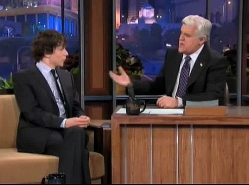 Jesse Eisenberg Talks Award Season Prep on Leno