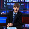 Video of Justin Bieber on The Daily Show