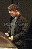 Ryan Phillippe Leaves Dinner Without His Lady