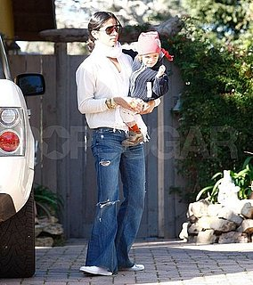 Pictures of Matthew McConaughey and Son Levi in LA