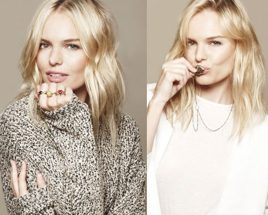 We had a live video chat with Kate Bosworth, and she shared her Valentine's Day jewelry picks.