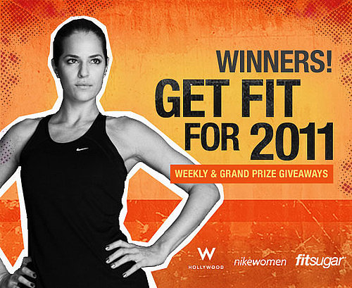 Winners of Get Fit For 2011 First Three Challenges