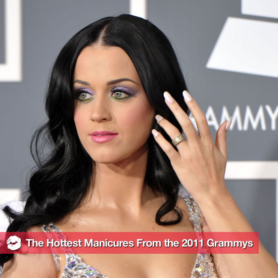 Pictures of the Stars&#039; Manicures at the 2011 Grammys