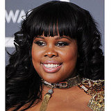Get Amber Riley's Black and Gold Eye Makeup Look