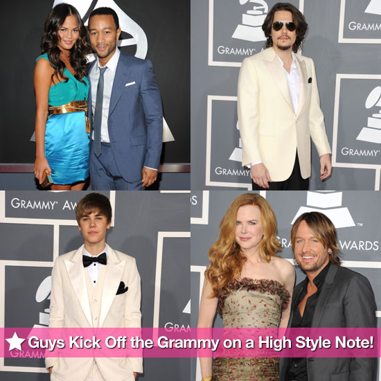 The Guys Kick Off the Grammys on a High Style Note