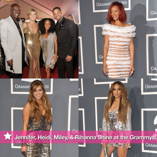 Jennifer, Heidi, Miley, Rihanna, and More Shine at the Grammys!