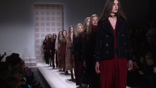 New York Fashion Week: Tory Burch Fall 2011 Runway