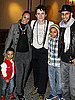 Pictures of Zac Efron and Alicia Keys With Swizz Beatz and Kids at Spider-Man on Broadway