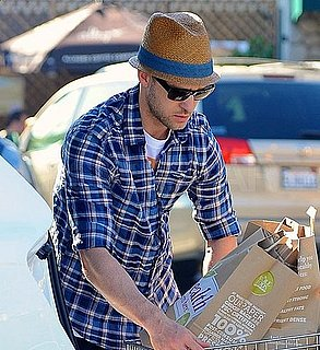 Pictures of Justin Timberlake Shopping at Whole Foods in LA