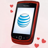 Red BlackBerry Torch Valentine's Day Giveaway
