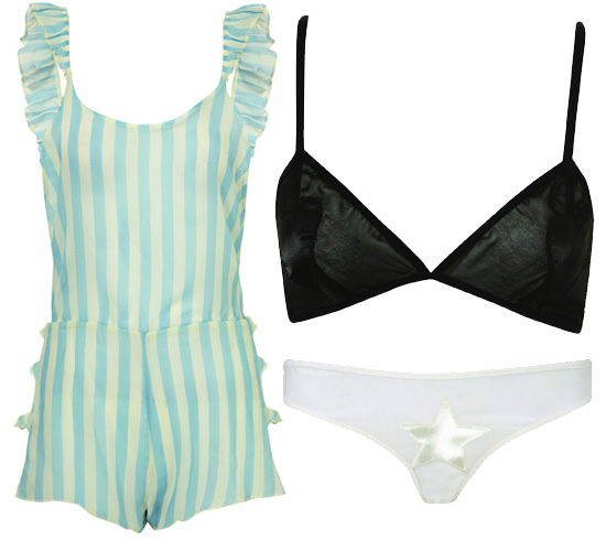 Danielle Scutt and Richard Nicoll Designer Lingerie for Topshop