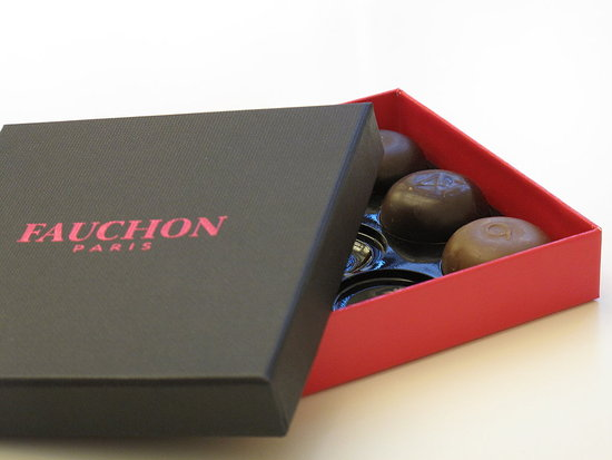 Fauchon Paris Collection de 9 Chocolats Griffés