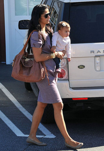 Pictures of Camila Alves With Vida in LA