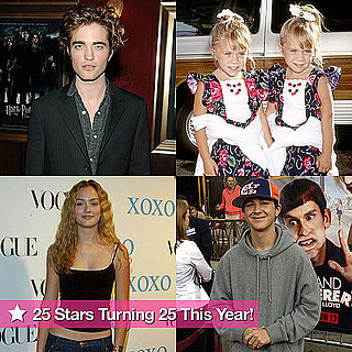 Celebrities Turning 25 in 2011