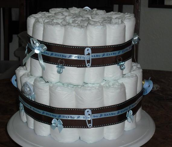 Classic Diaper Cake