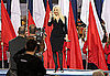 "Video of Christina Aguilera Singing US National Anthem ""The Star-Spangled Banner"" With Wrong Lyrics at 2011 Super Bowl"