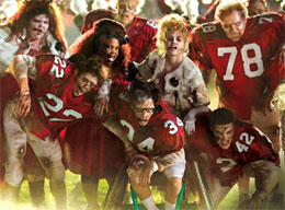 "Video of Glee ""Thriller / Heads Will Roll"" Mashup From Post-Super Bowl Episode ""The Sue Sylvester Shuffle"""